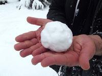 بارش برف تابستانی