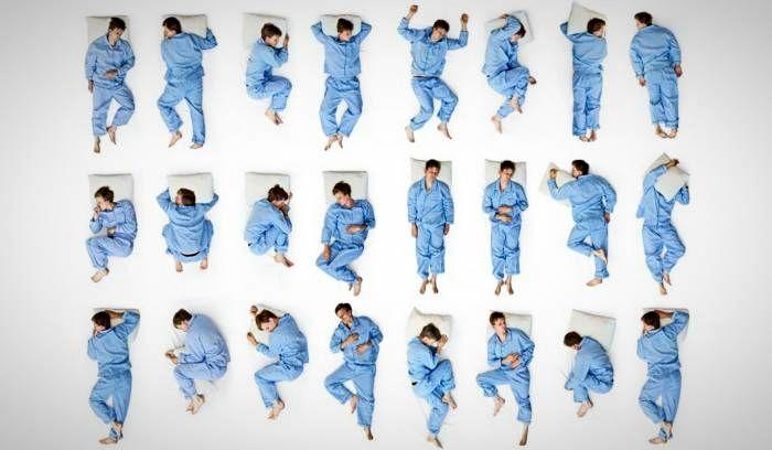 فرم خوابیدن صحیح