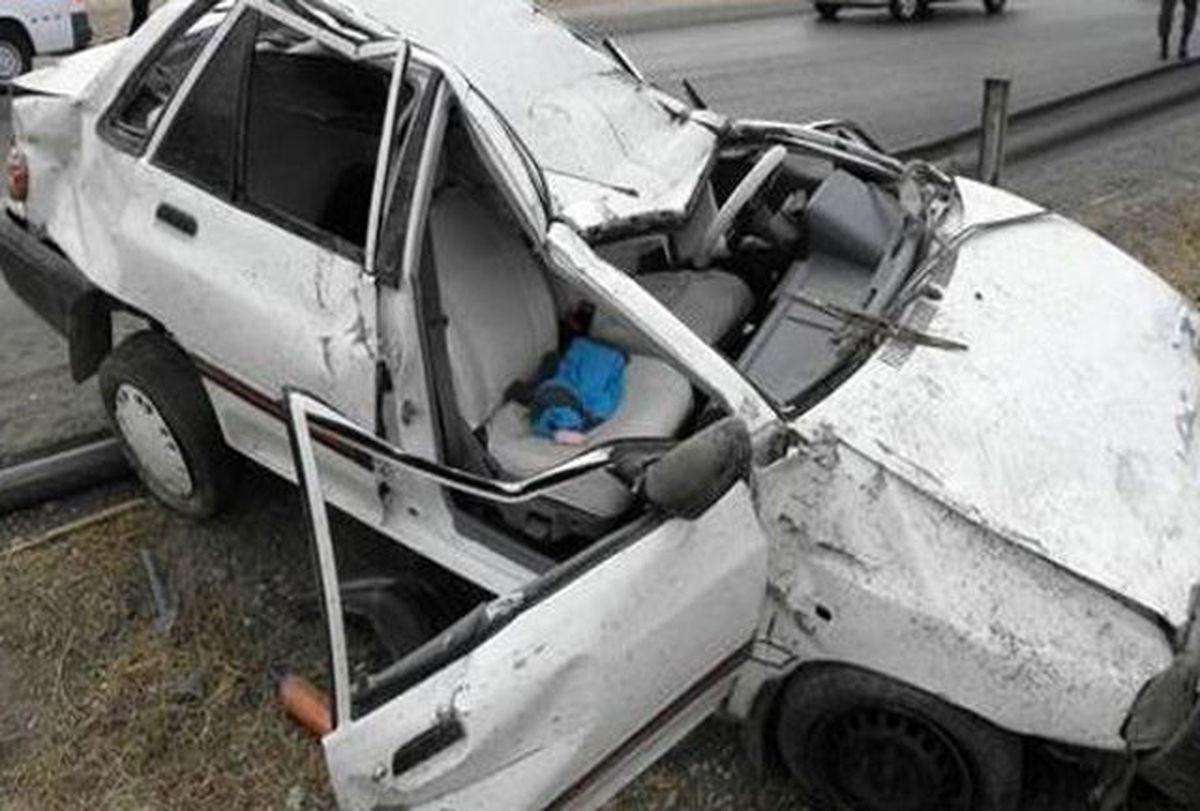 2کشته و سه زخمی در 2سانحه رانندگی