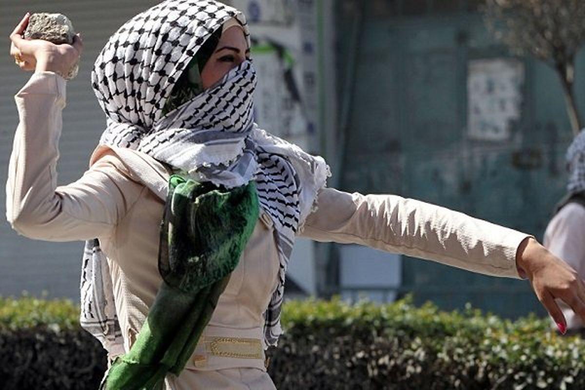 ضرب و شتم وحشتناک زنان فلسطینی! +فیلم