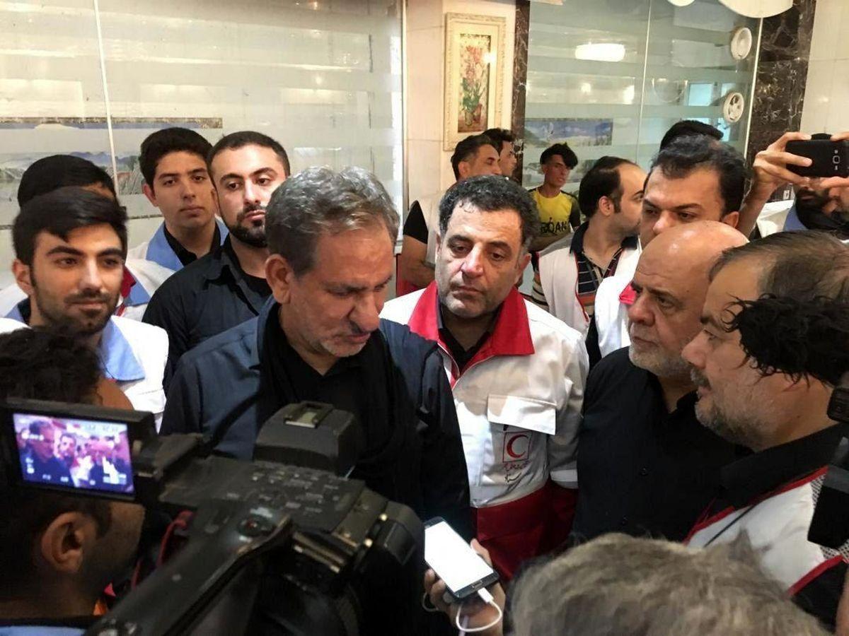 حضور معاون اول رئیس جمهوری در درمانگاه امالقری نجف