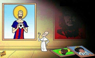 عشق پاپ فرانسیس (کاریکاتور)