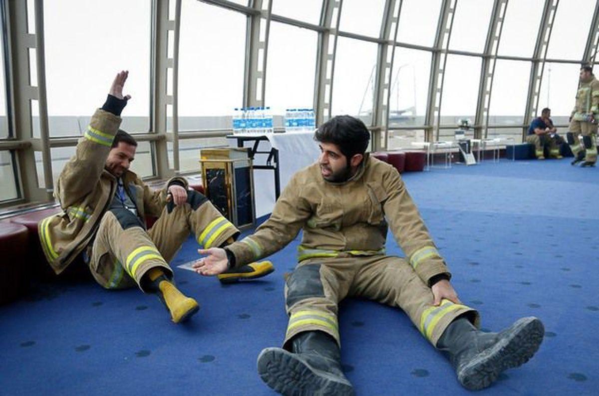 انتشار فرمهای استخدامی آتش نشانان تا پایان دی