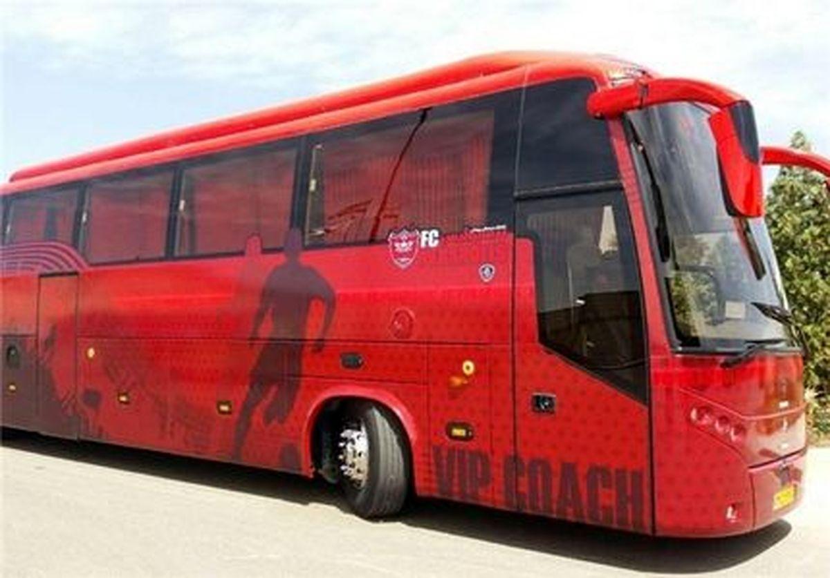 پلیس اتوبوس پرسپولیس را معطل کرد