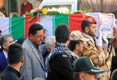 مراسم تشییع شهدای حادثه تروریستی اهواز +فیلم