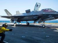 سقوط جنگنده گران قیمت ارتش آمریکا