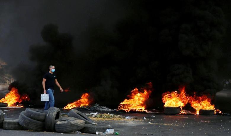 تظاهرات در بیروت