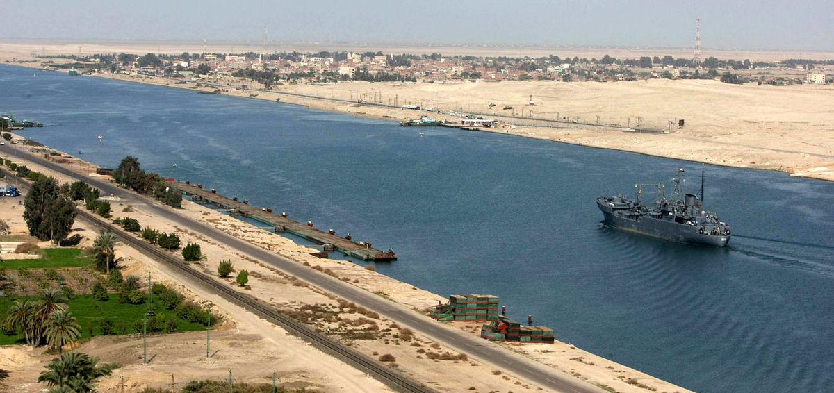 تاثیر مسدود شدن کانال سوئز بر قیمت کرایه کشتیها