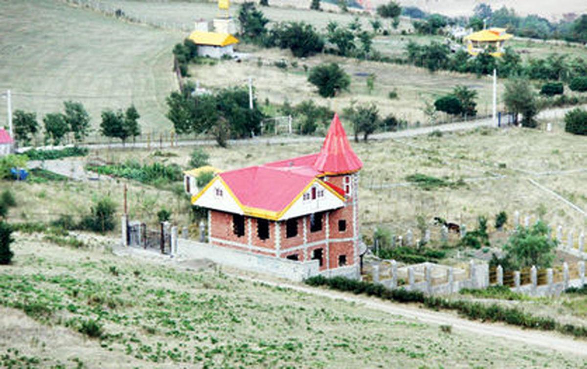 چنگ اندازی شهرهای مازندران به اراضی کشاورزی