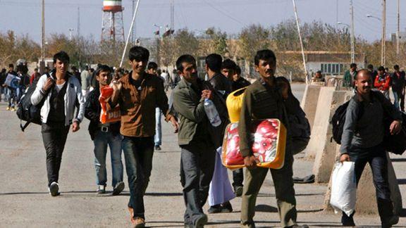 بازگشت مهاجران افغان از ایران رکورد زد
