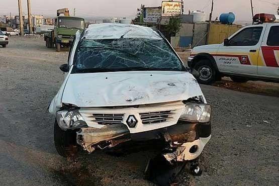 2کشته و 4مجروح در سانحه رانندگی