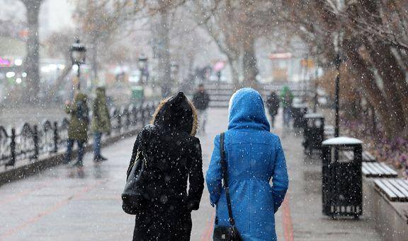 برف و باران در کشور تا روز چهارشنبه
