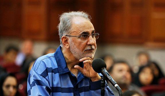 محمدعلی نجفی صحنه قتل را دوباره بازسازی کرد