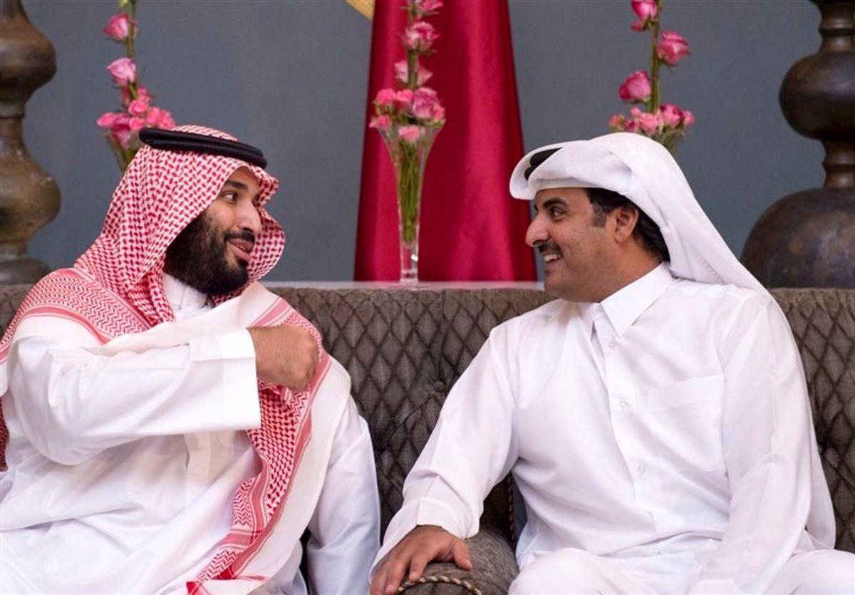 گفتوگوی تلفنی امیر قطر با بن سلمان
