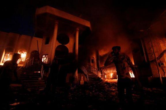 دستگیری مظنونین آتش زدن کنسولگری ایران در بصره