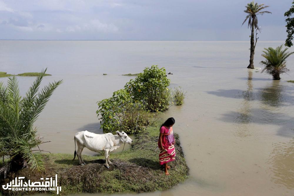 یکی از ساکنین جزیره هندی گورامارا