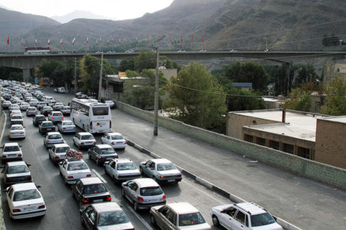 خروج بیش از یک میلیون خودرو از گیلان در طرح نوروزی