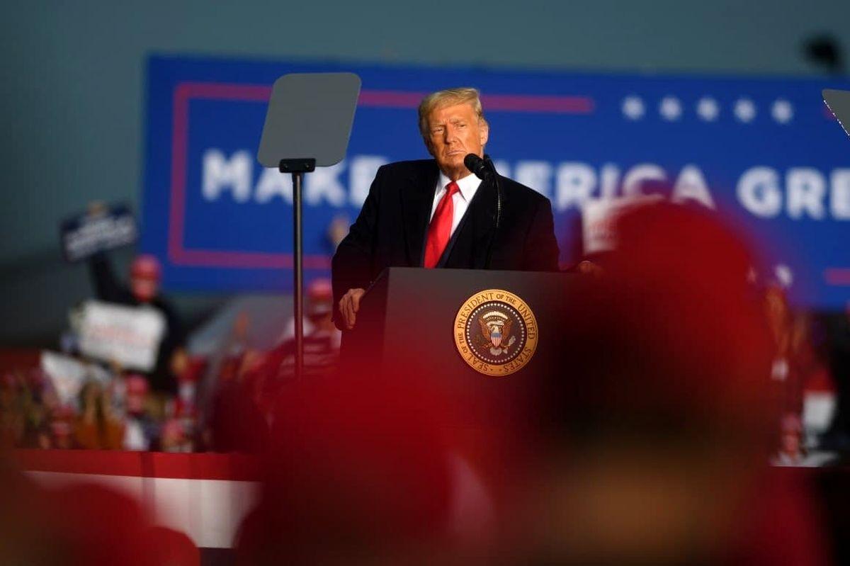 فوری/ ترامپ ادعای پیروزی کرد