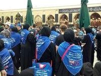 زائران استرالیایی در مسجد کوفه +عکس