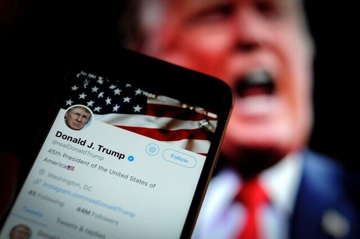 """توییتر روی پست ترامپ برچسب """"مضر"""" زد"""