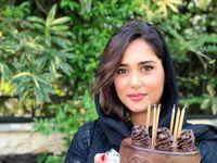 پریناز ایزدیار تولداش را جشن گرفت +عکس