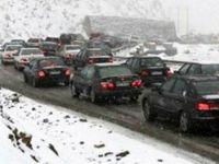 ترافیک در مسیر شمال به جنوب کرج - چالوس