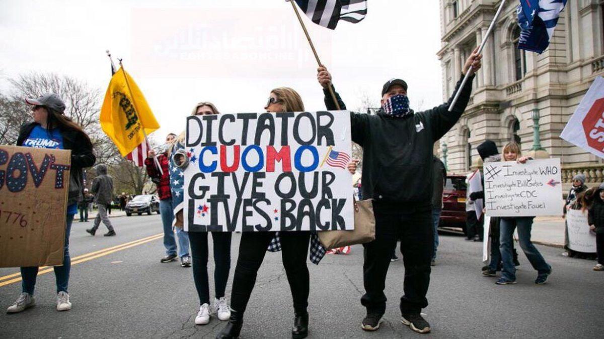 کنترل بحران آمریکا در دست کیست؟