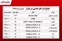 قیمت روز انواع لپ تاپ لمسی در بازار +جدول