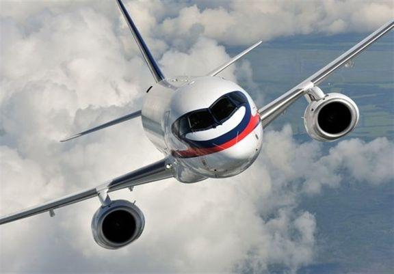پرواز سوپرجتهای روسی در آسمان ایران