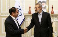 دیدار نوروزی رئیس کل بیمه مرکزی با رئیس مجلس شورای اسلامی