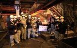 تولید تختال با ضخامت ۲۵۰میلی متر در ماشین ریخته گری شماره۲
