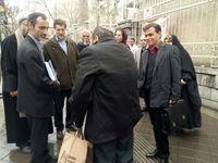 حضور بقایی در پنجمین جلسه دادگاه تجدیدنظر