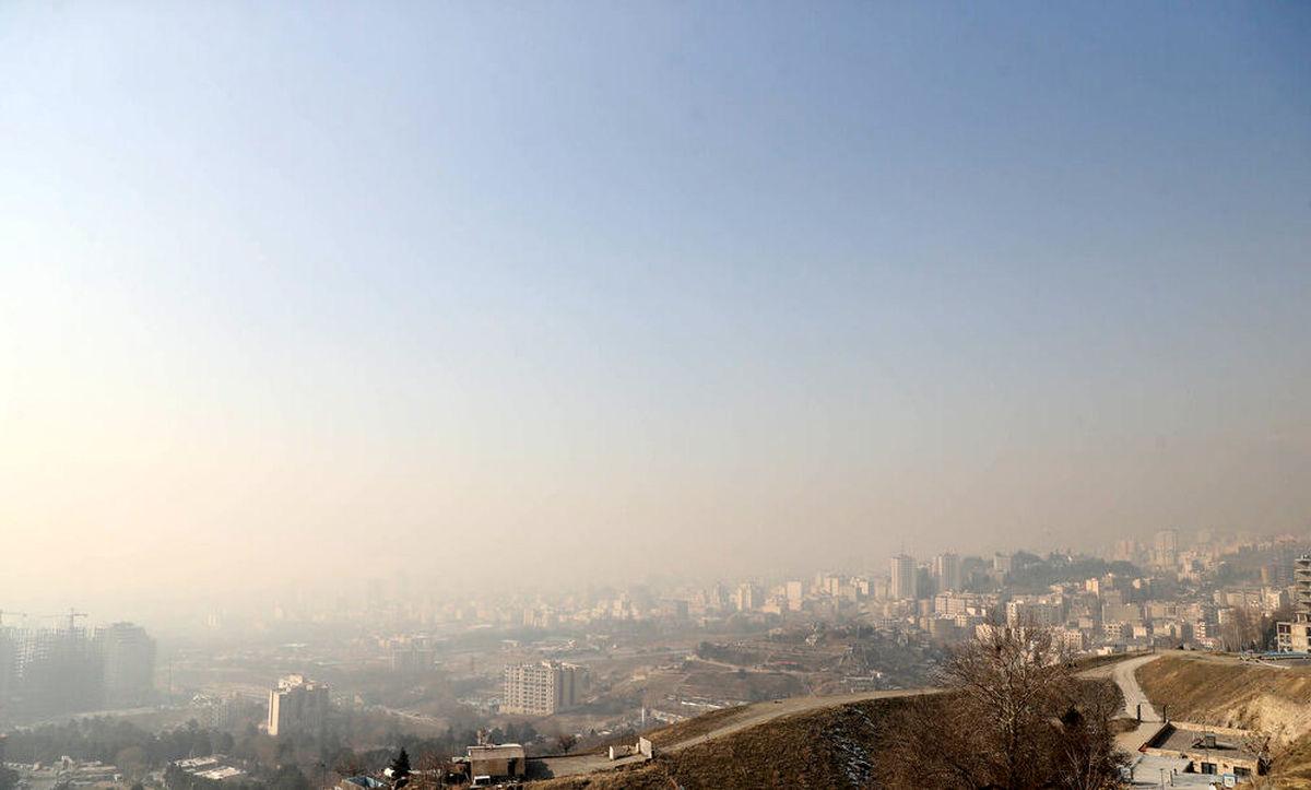 تداوم آلودگی هوای تهران