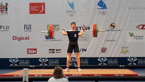 اولین وزنه بردار ایران هشتم جوانان جهان شد