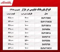 قیمت پاوربانک فیلیپس در بازار +جدول