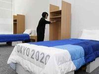ورزشکاران در توکیو ۲۰۲۰ روی مقوا میخوابند