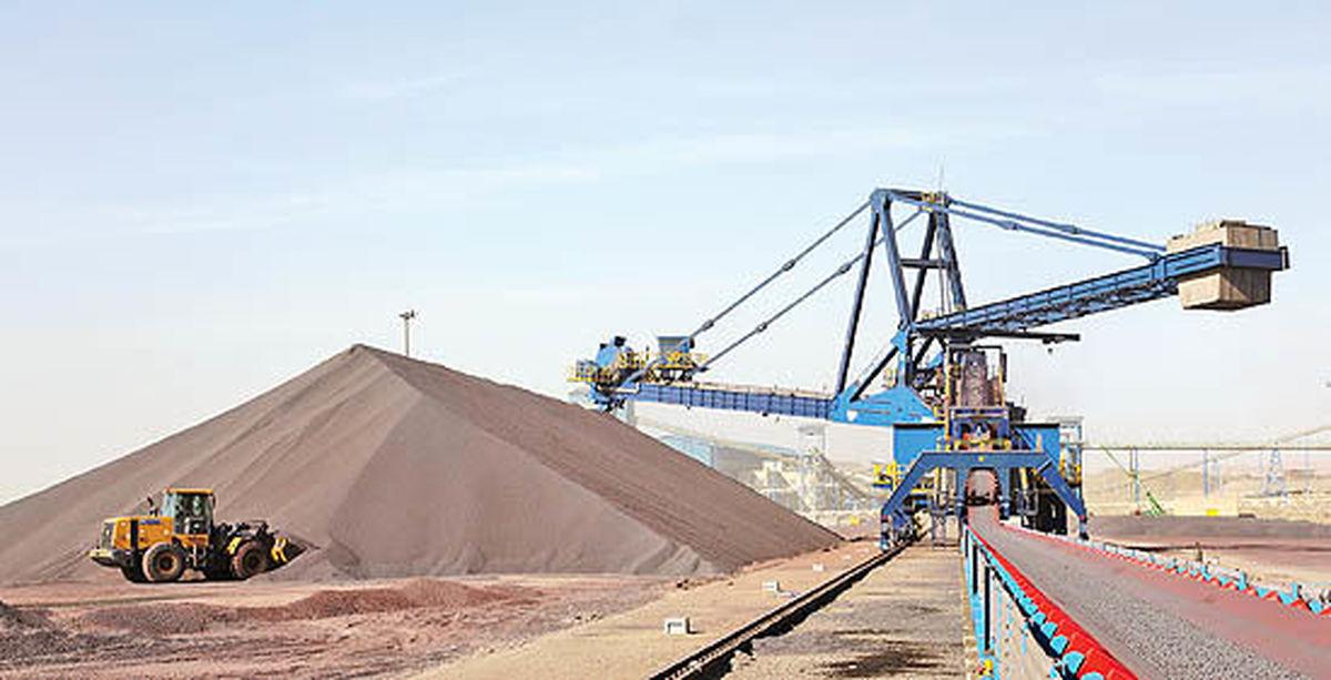 تولید ۲.۳میلیون تن کنسانتره و گندله در فولاد سنگان