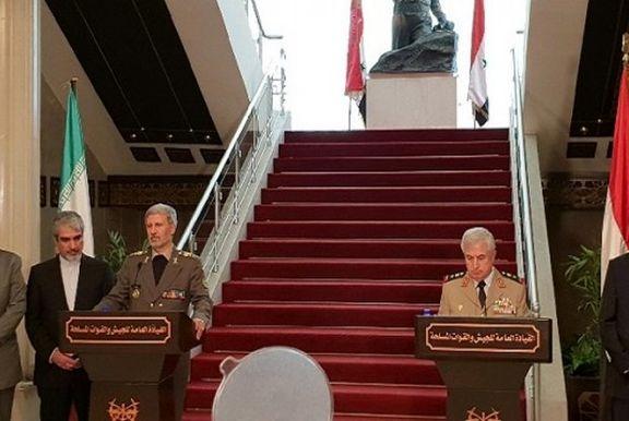 مبارزه با تروریسم را در کنار دولت سوریه ادامه میدهیم