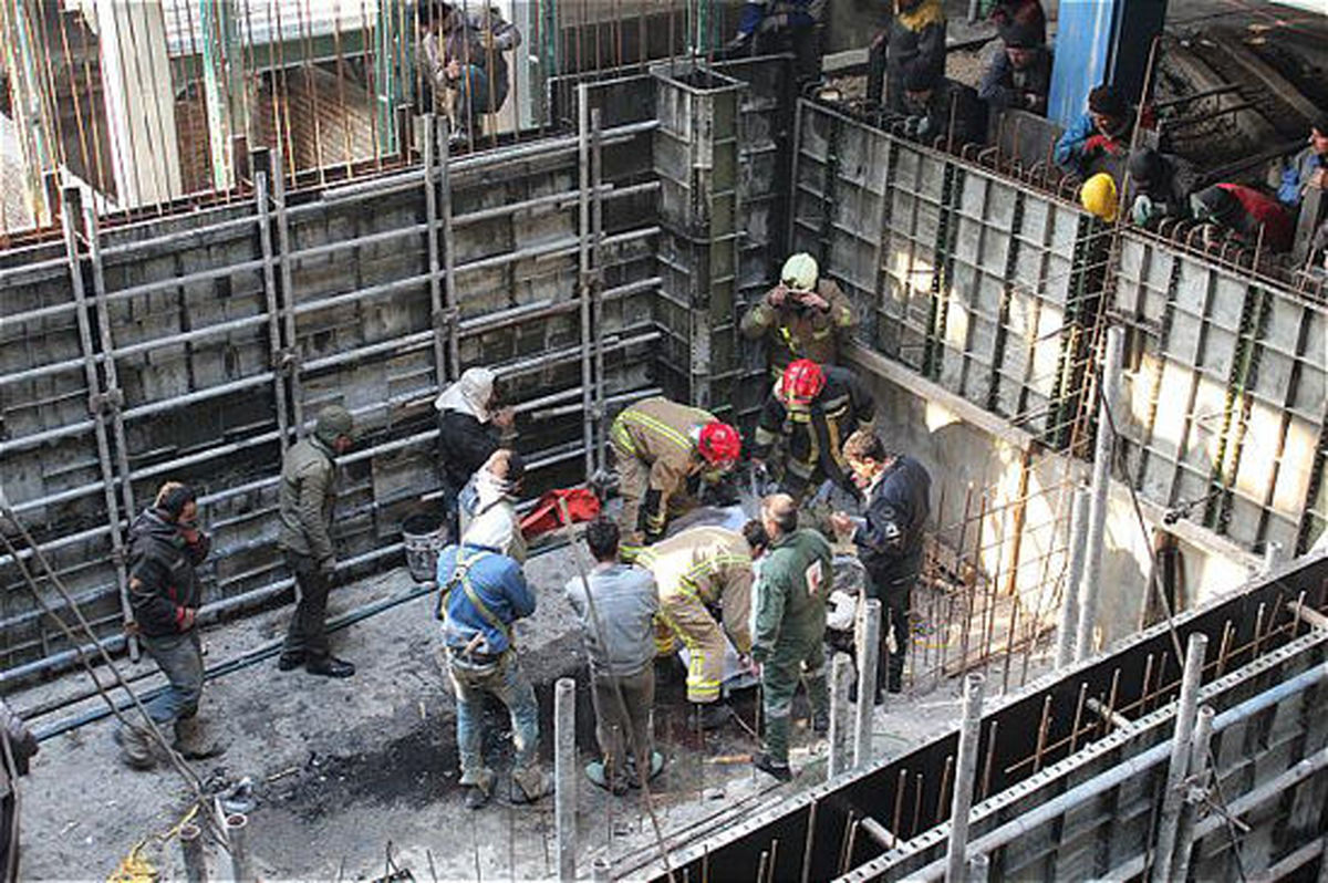 طول درمان به کارگران ساختمانی تعلق نمیگیرد