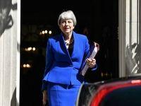ترزا می ساختمان نخست وزیری را ترک کرد +تصاویر