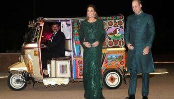 تصاویر جدید دیدار کیت میدلتون و پرنس ویلیام از پاکستان +فیلم