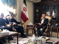 رایزنی مدیرعامل بانک ملت با سرکنسول ایران در نجف