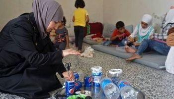ابتکار زن سوری برای مقابله با حملات شیمیایی +تصاویر