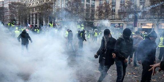 وضعیت بگیر و ببندهای امروز فرانسه +تصاویر