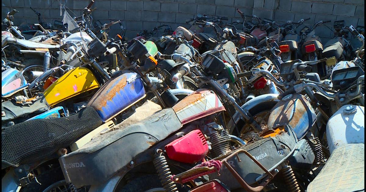 چهار هزار دستگاه موتورسیکلت رسوبی در البرز ترخیص شد