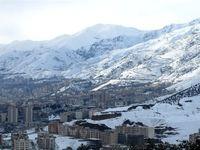 ارتفاعات تهران یکشنبه سفیدپوش میشود