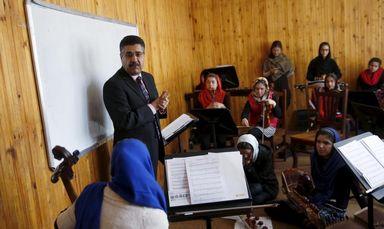 دختران افغانستان