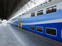 توقف قطار ۲طبقه تهران-مشهد به دلیل نقصفنی