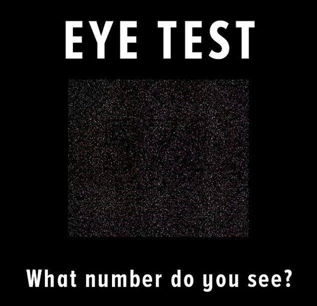 تست بینایی