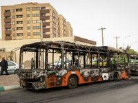 اوباش چطور اموال عمومی را در اصفهان تخریب کردند +فیلم